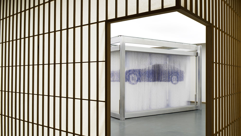 Lexus Formafantasma exhibition space
