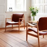 Onecollection reissues Finn Juhl's Danish mid-century FJ 136 chair