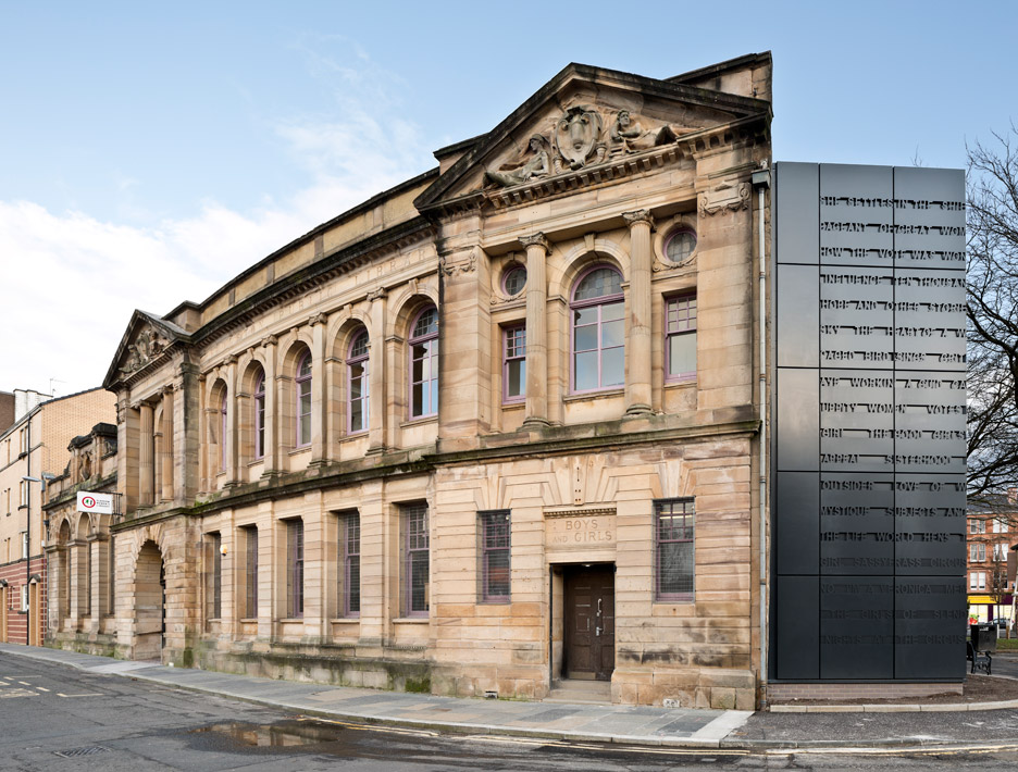 Glasgow Women's Library by Collective Architecture in Glasgow, Scotland, UK