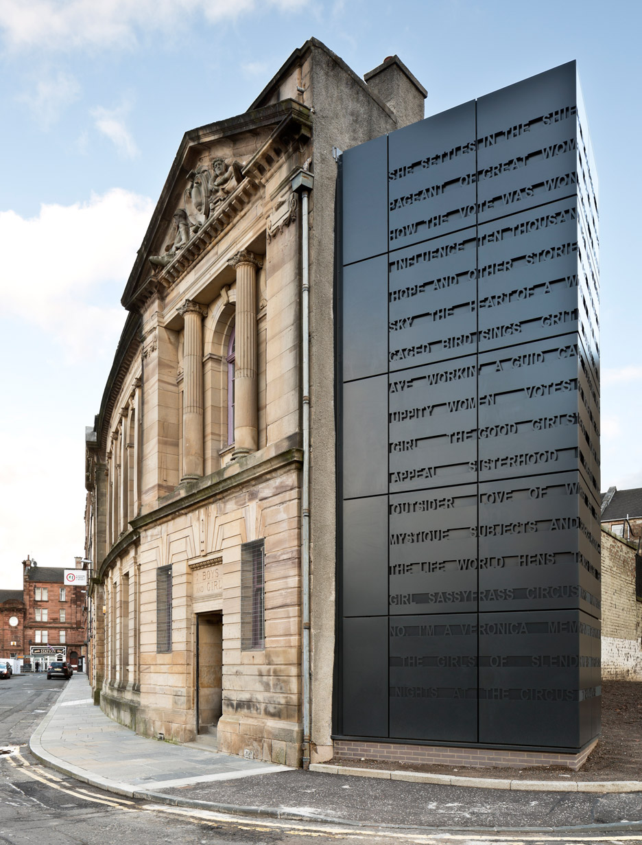 Collective Architecture extends sandstone building to create Glasgow Women's Library