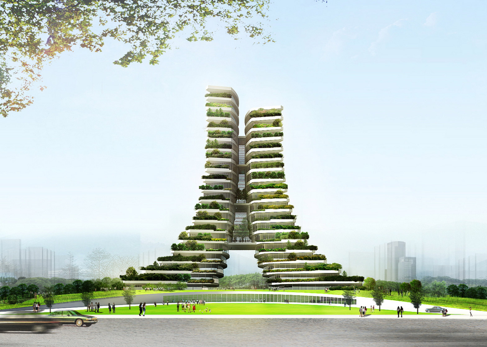 Green City Hall by Vo Trong Nghia Architects