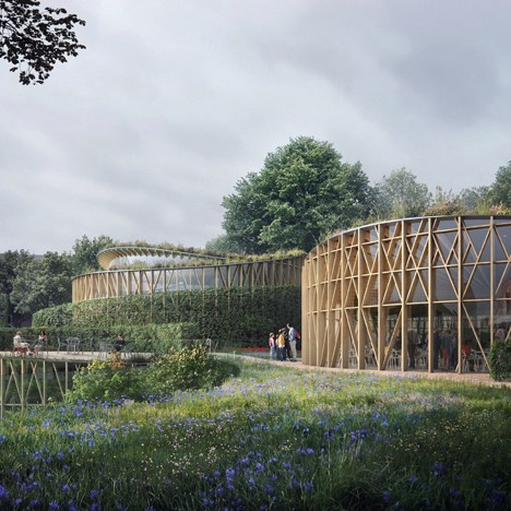 Kengo Kuma reveals plans for Hans Christian Andersen Museum in Odense