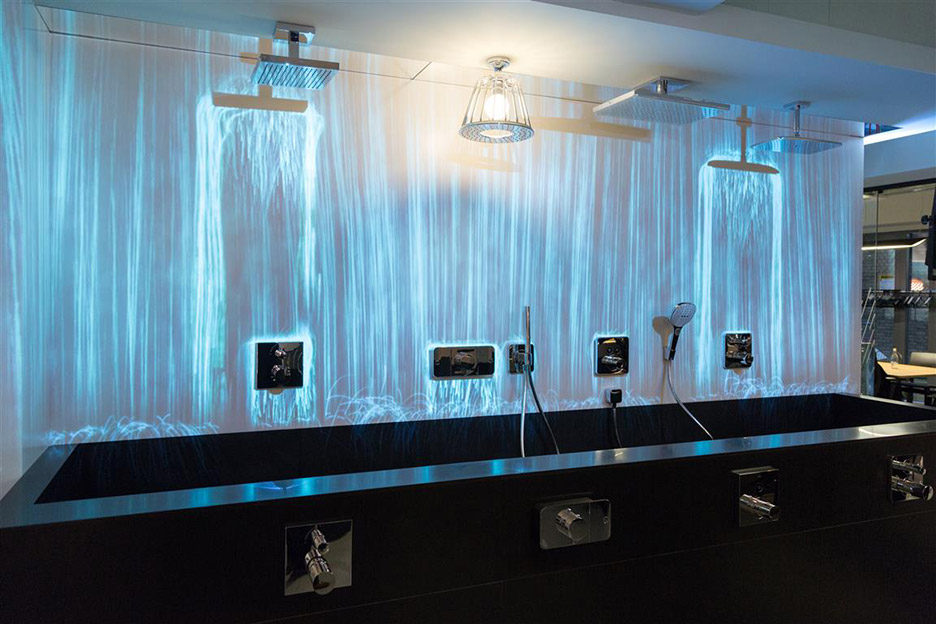 hansgrohe opens interactive showroom the water studio in. Black Bedroom Furniture Sets. Home Design Ideas
