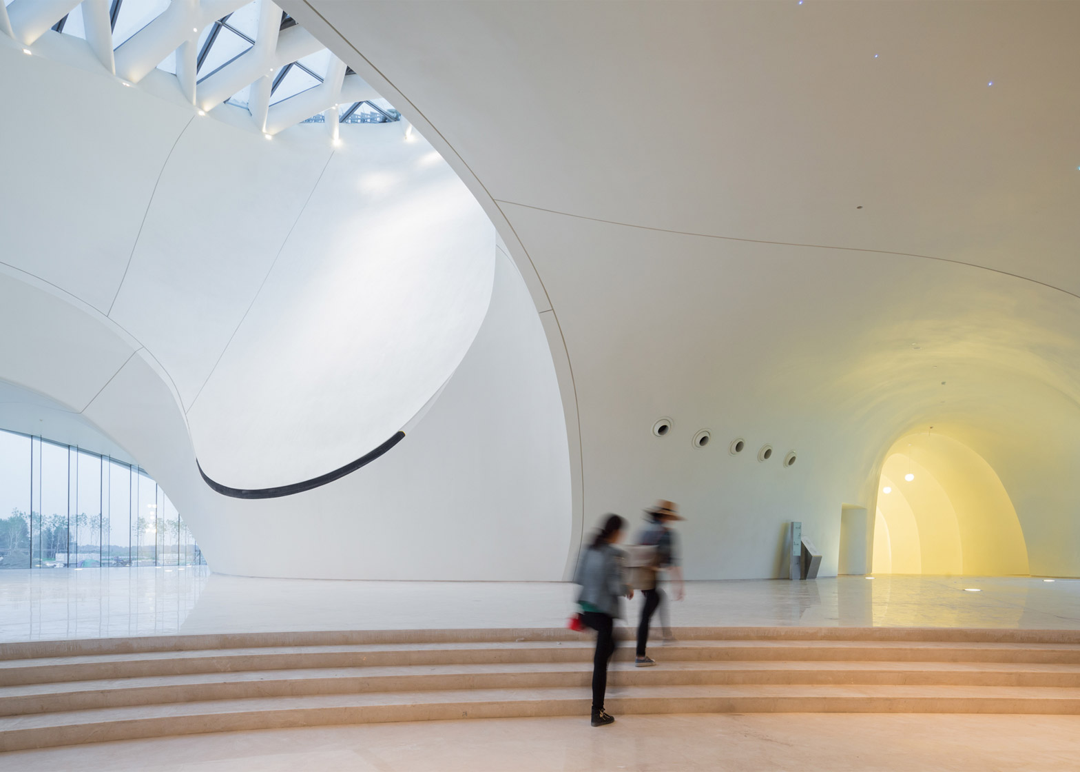 MAD's Harbin Opera House photographed by Iwan Baan