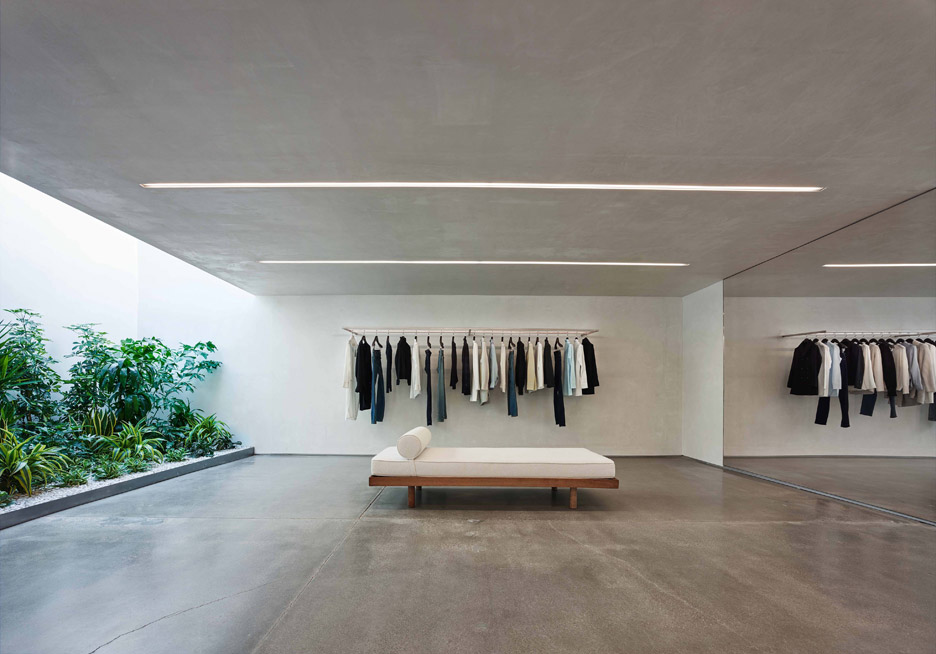 Helmut Lang showroom in West Hollywood by Standard Architecture