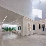 Standard Architecture creates minimal Hollywood showroom for Helmut Lang