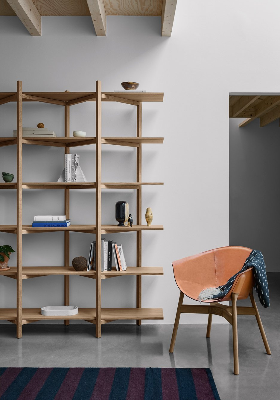 Zig Zag Shelf by Studio deFORM for Hem