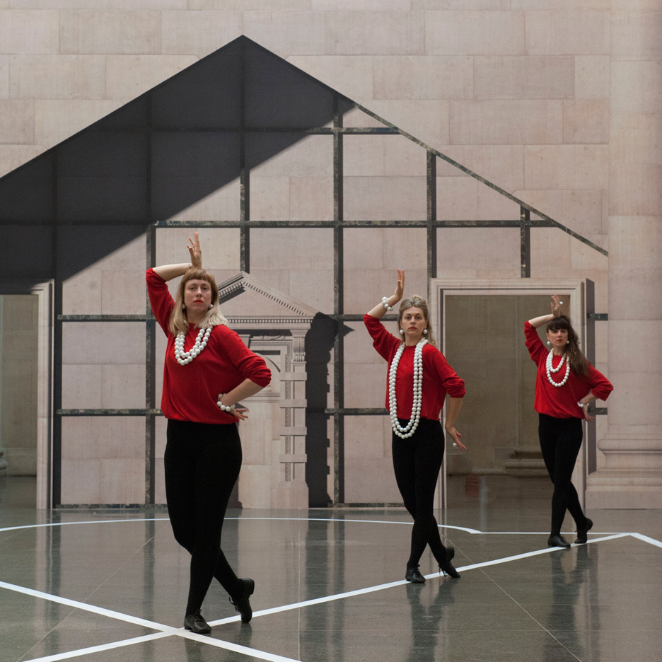 Pablo Bronstein manipulates architectural imagery for choreographed Tate commission