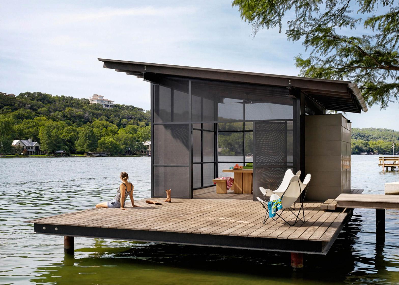 Hog Pen house by Lake Flato