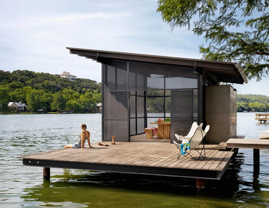 Hog Pen house by Lake Flato