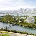 Studio Dror imagines second giant dome for Montreal's Expo 67 island
