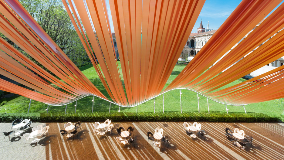 Invisible Border installation by MAD studio architects at Milan Design Week 2016