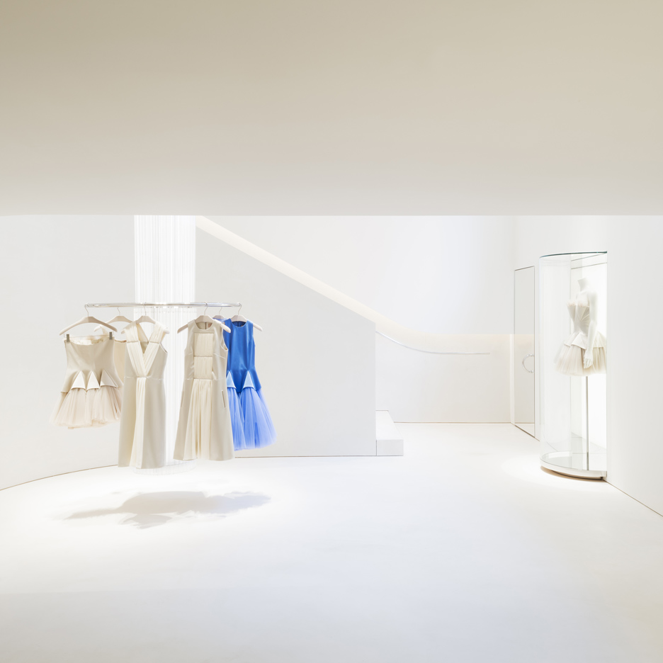 John Pawson minimal store for Christopher Kane
