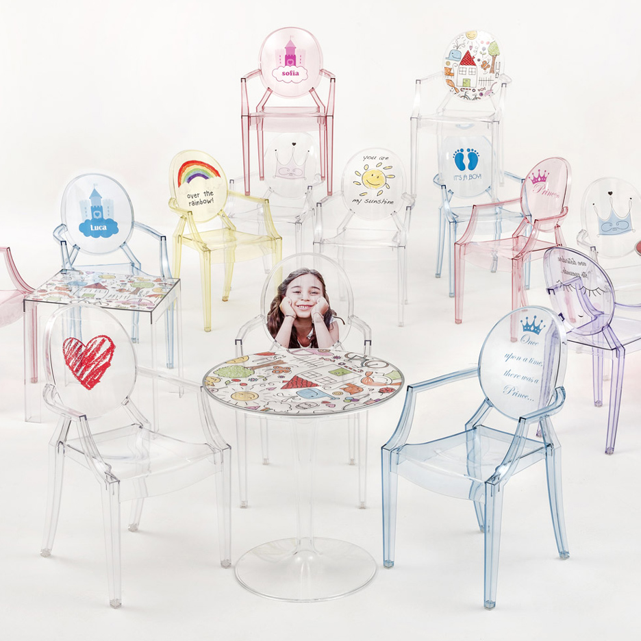 Kartell's furniture range for children