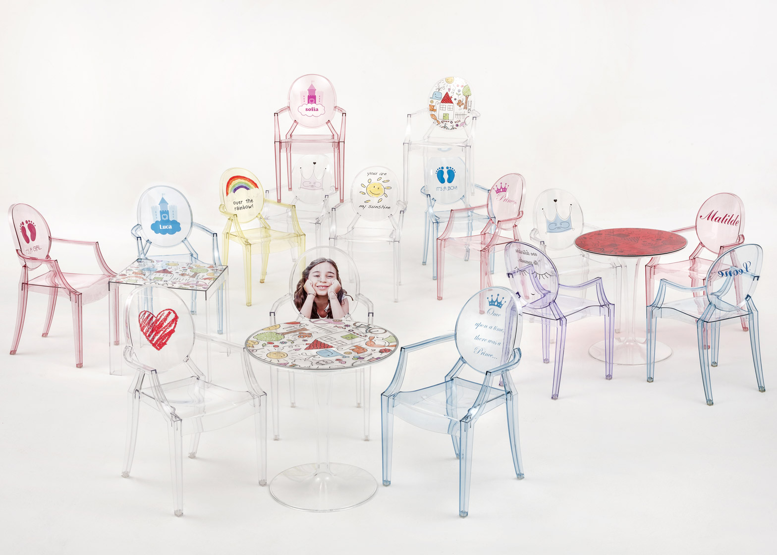 Kartell's kid's furniture from Milan