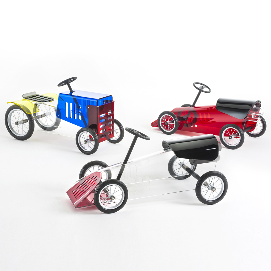 Kartell reveals plastic furniture range designed for children