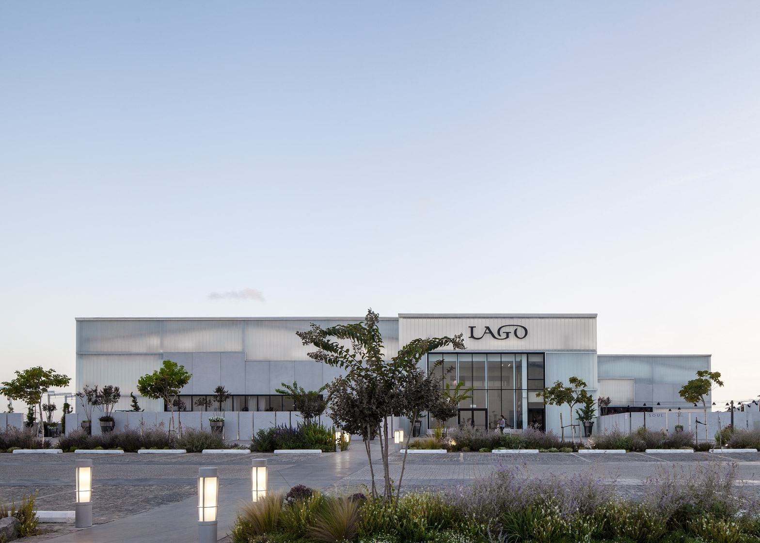 Lago event hall by Pitsou Kedem in Rishon LeZion, Israel