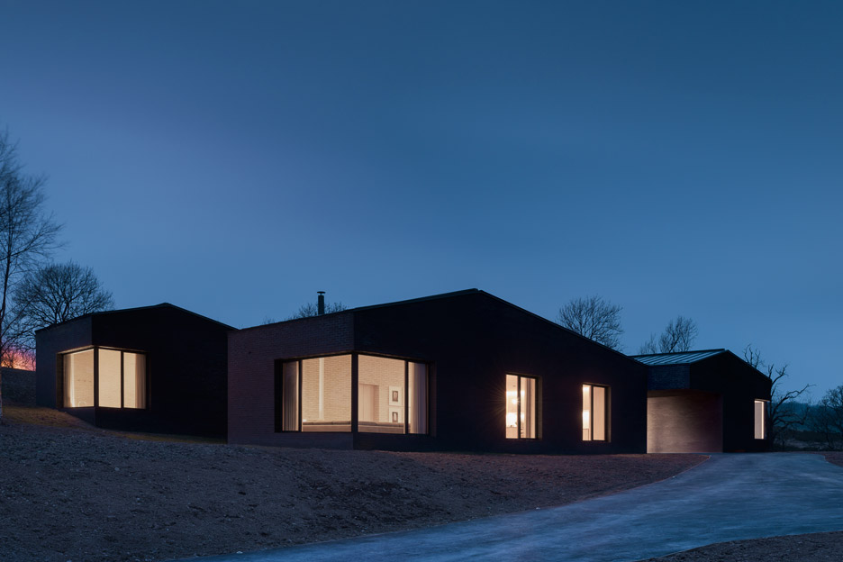 Life house by John Pawson & John Pawson\u0027s Life House is built from dark and light bricks