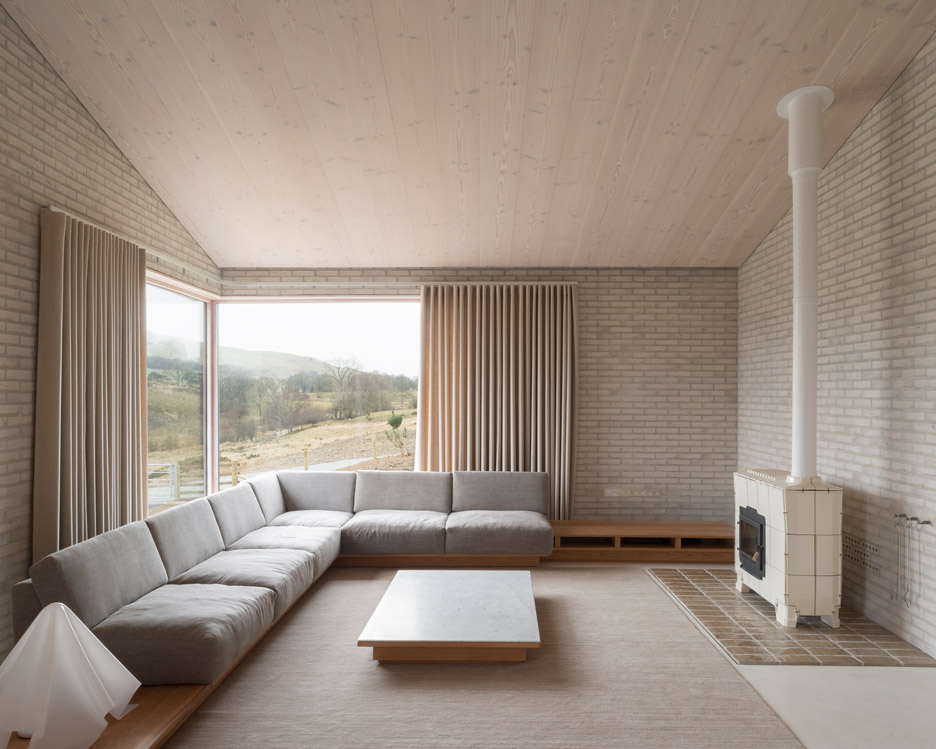 John Pawson\'s Life House is built from dark and light bricks