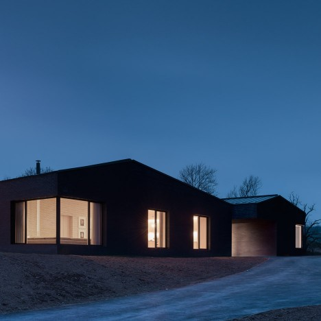 John Pawson's Life House is a Welsh countryside retreat built from dark and light bricks