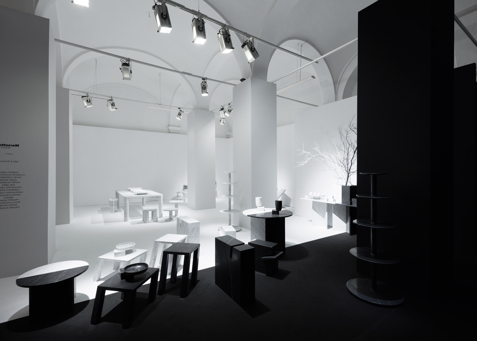 Light and shadow by Nendo for Marsotto edizioni