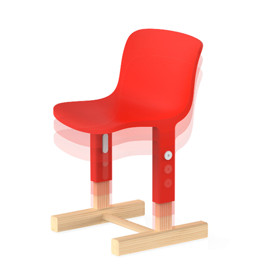 Big-Game's Little Big Chair for kids can be adjusted as they grow