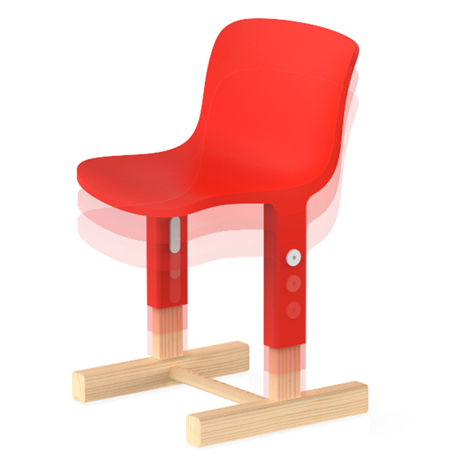 Big-Game's Little Big Chair for Magis Me Too