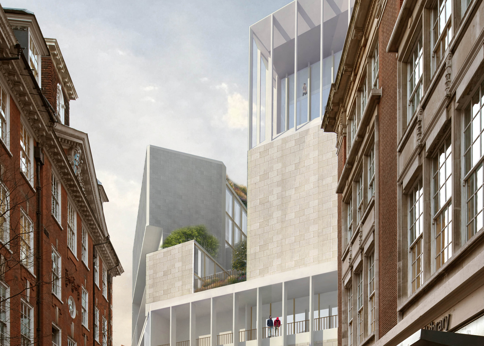 grafton architects wins contest for new lse building in london