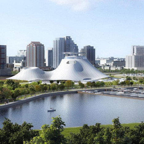 New location proposed for MAD's Lucas Museum in Chicago
