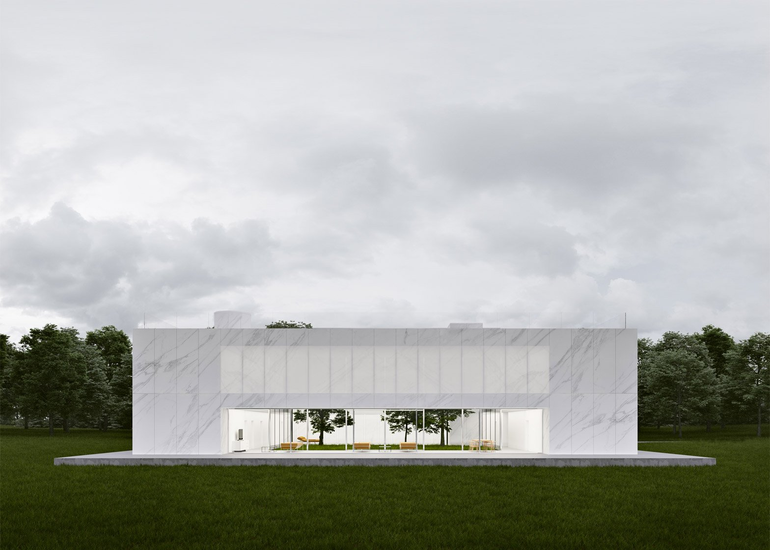 Modern Mansion By Maciej Grelewicz For Design A Beautiful House Competition