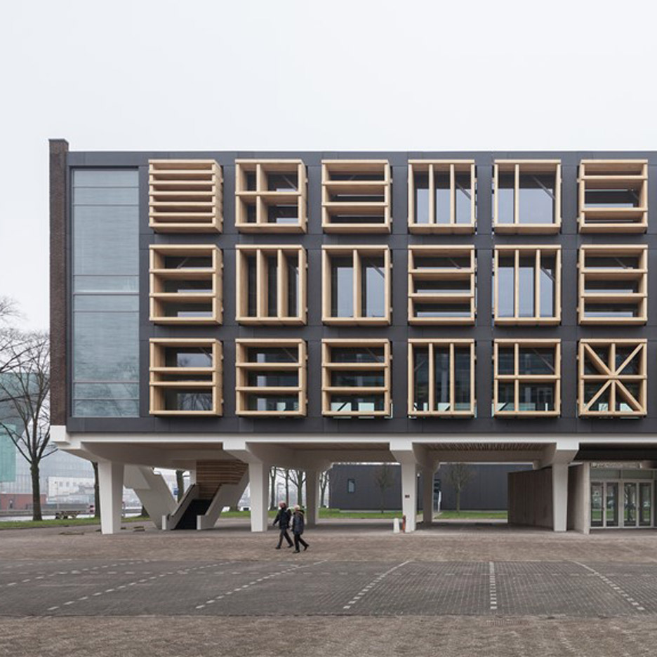 Marine Base Amsterdam Building 27E by Bureau SLA