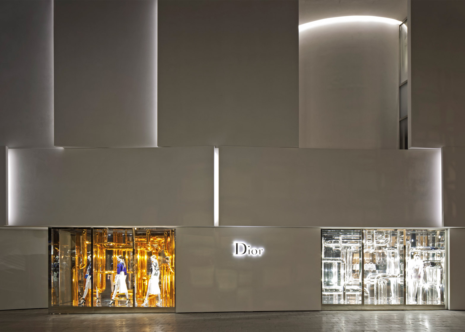 Dior shop in Miami by Barbarito Bancel