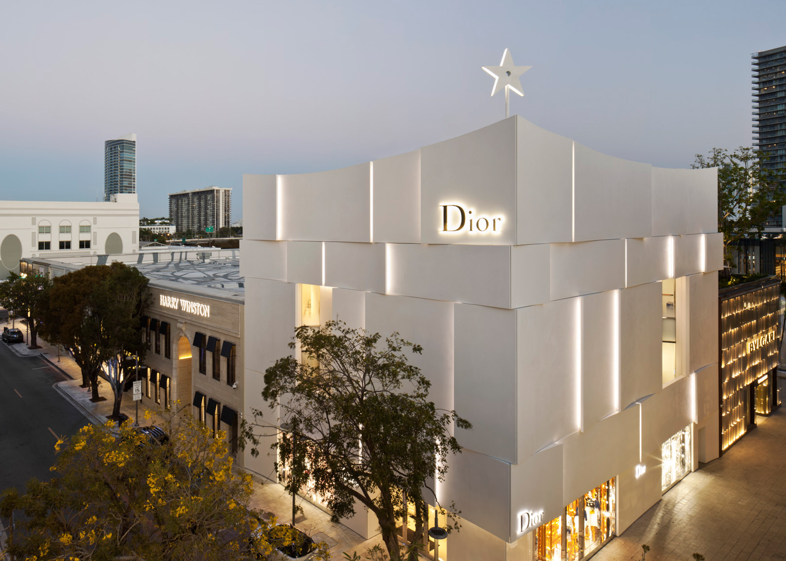 Miami Dior Boutique By Barbarito Bancel Has Pleats
