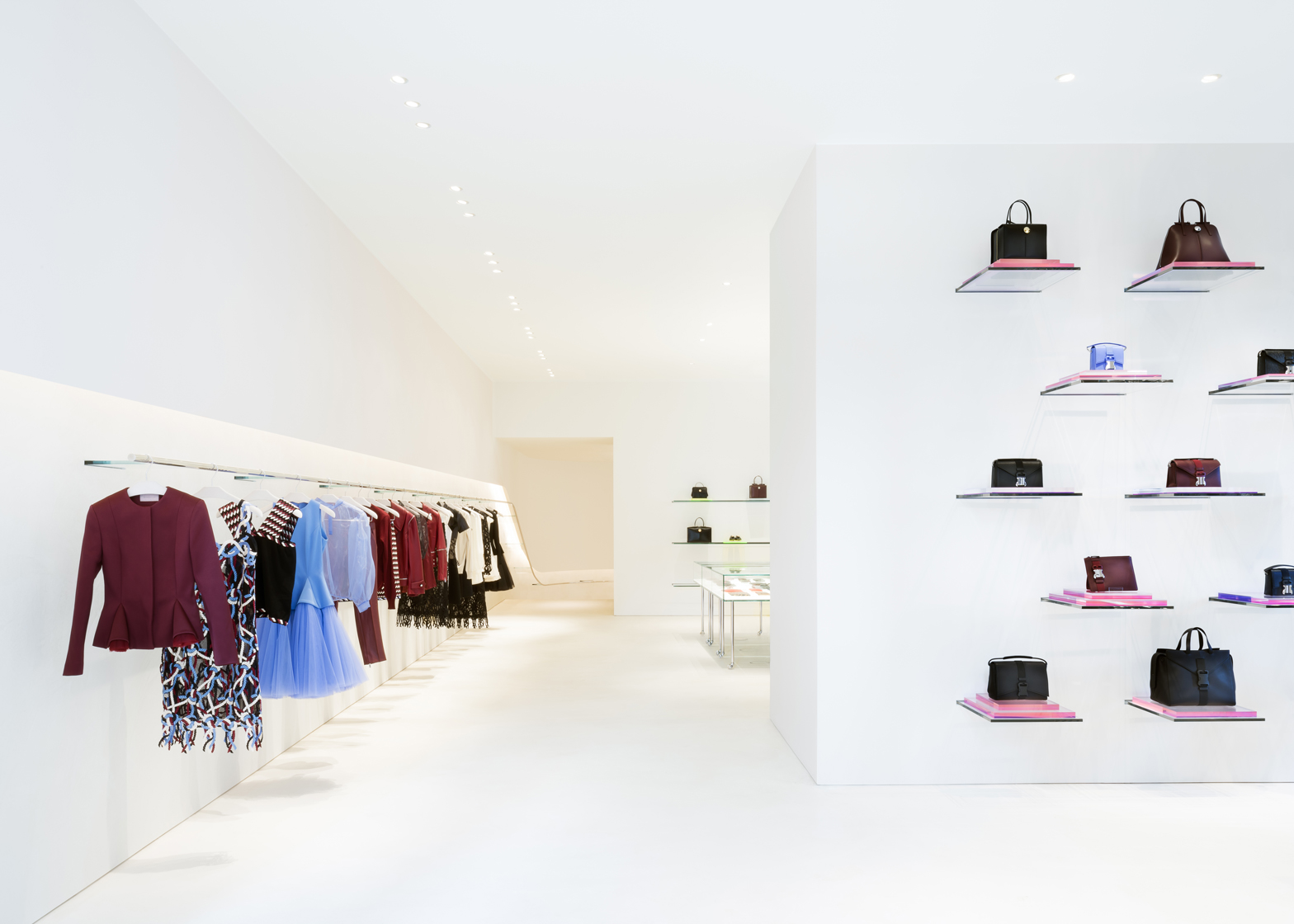 John Pawson's minimal store for Christopher Kane