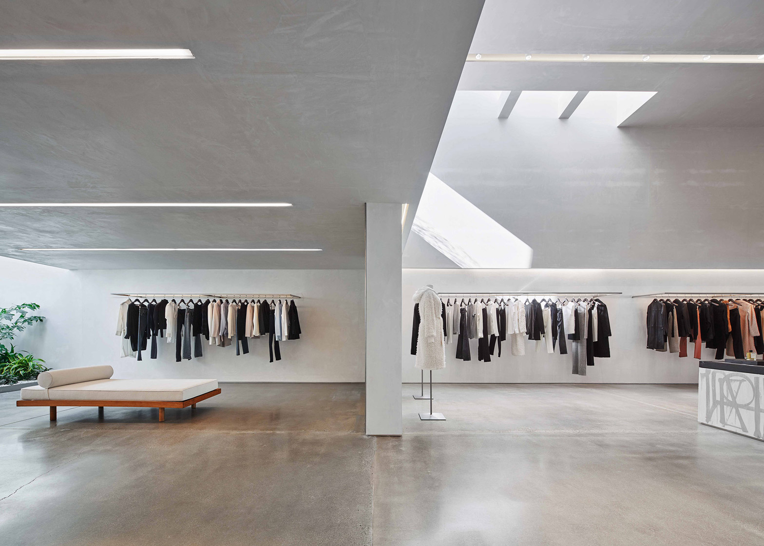 Helmut Lang West Hollywood store by Standard Architecture