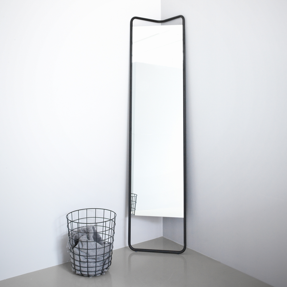 mirror by kaschkasch cologne for menu bespoke furniture space saving furniture wooden
