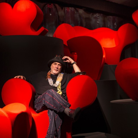 Moroso's Spring to Mind exhibition celebrates 25 years of creative collaboration with Ron Arad