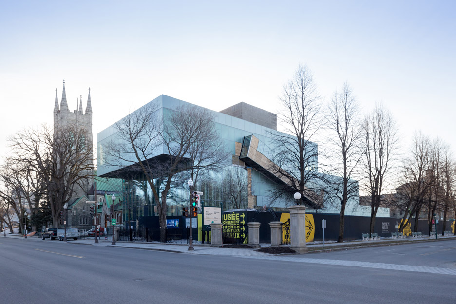 Extension to Quebec's Musée National des Beaux-Arts by OMA