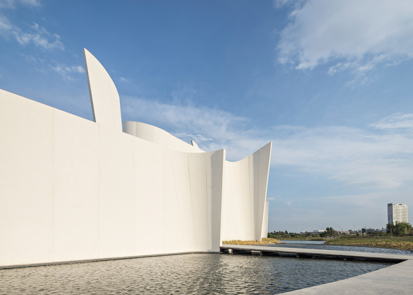 Museo Internacional del Barroco by Toyo Ito