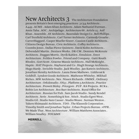 Competition: five copies of New Architects 3 book to be won