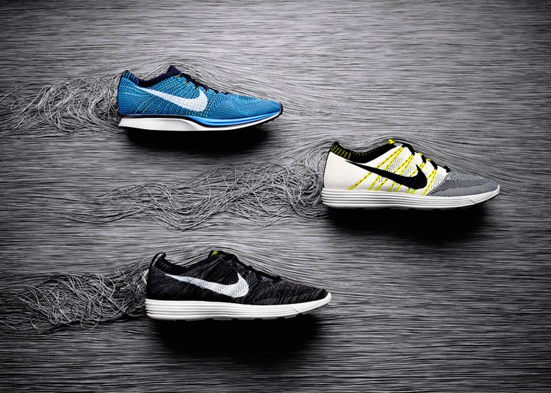 Nike's original range of Flyknit running shoes, which were first launched in February 2012