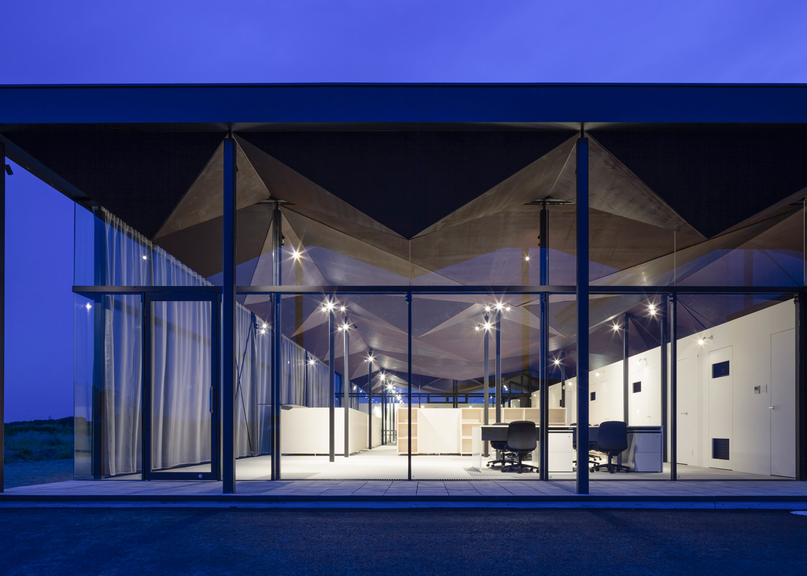 Office building by NTA in Chiba Japan architecture