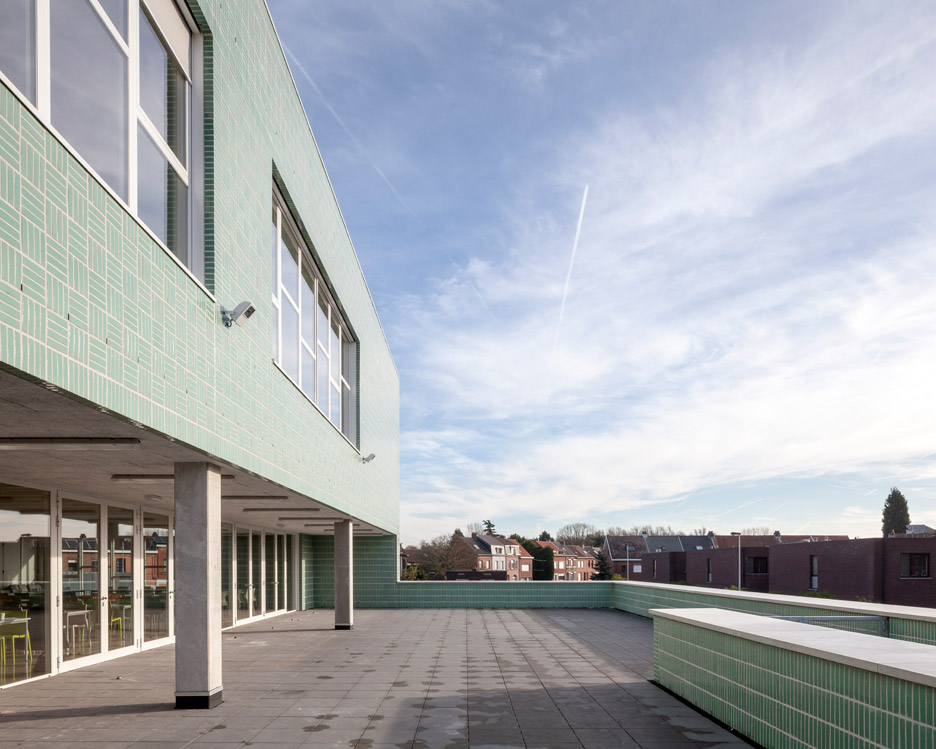 Open school project in Boom by Areal Architecten