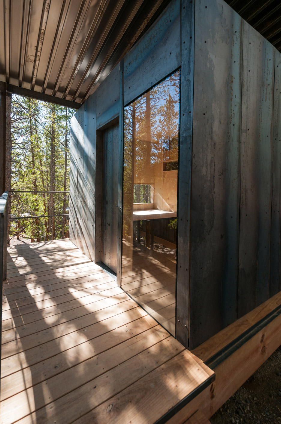 Outward Bound Cabins by Colorado students