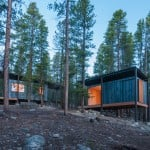 Colorado architecture students design rugged micro cabins for Outward Bound