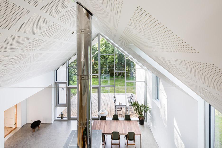 Link Arkitektur adds gabled extension to farmhouse in Norway on norwegian apartment, norwegian homestead, norwegian outhouse, norwegian open sandwich, norwegian farm life,