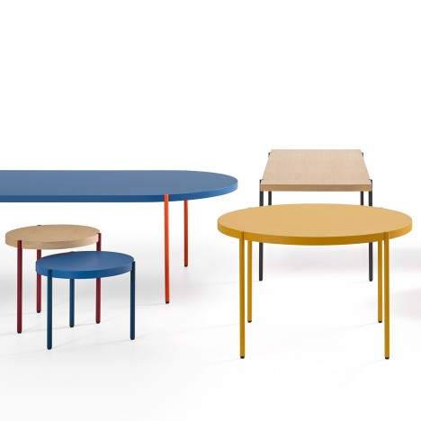 Claesson Koivisto Rune's Palladio tables reference Minimalist sculpture