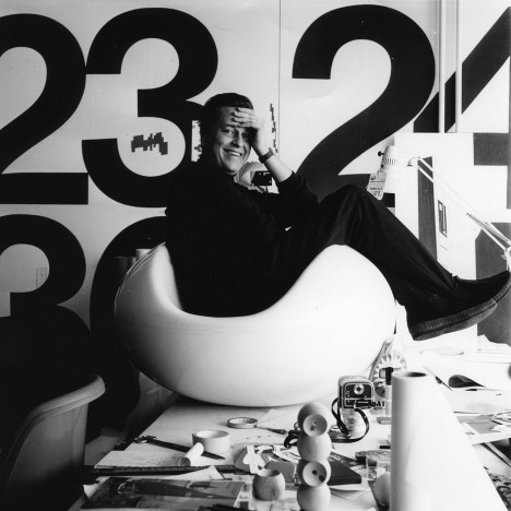Eero Aarnio's iconic Ball Chair features in retrospective at Helsinki Design Museum