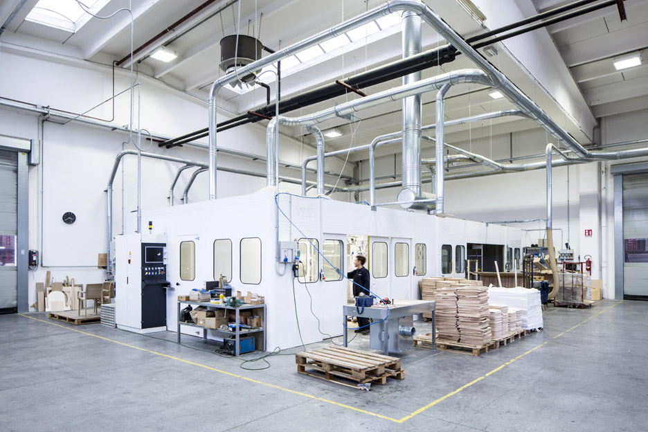 Pedrali expands wood division