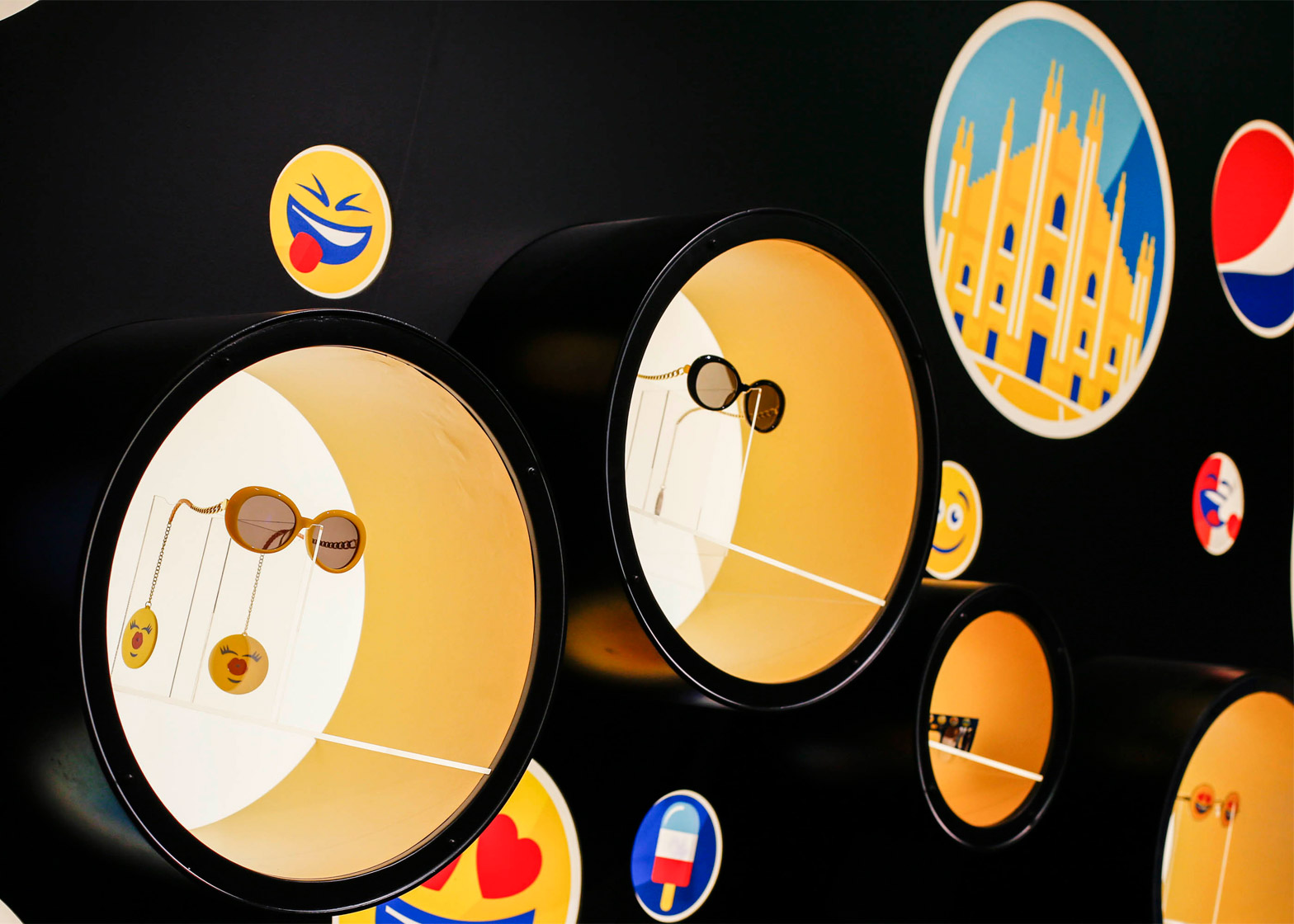 PepsiCo's installation during Milan design week